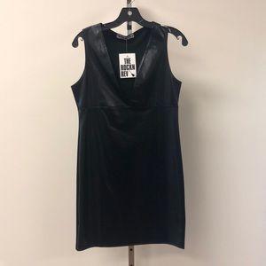NWT The Rock N Rev Black XL Plunge Bodycon Dress